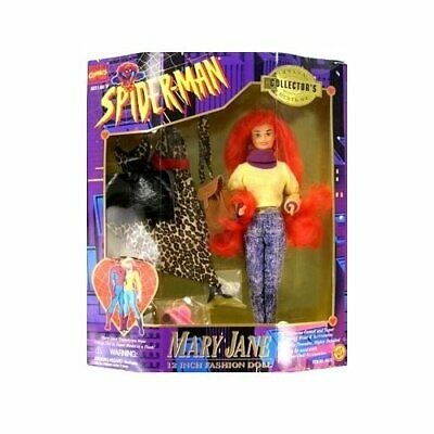Spider-Man Animated Series Mary Jane (12 Inch Collector Hero) Large Doll