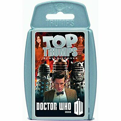 Top Trumps Doctor Who Series 7 (2013) Card Game  Educational Card Games