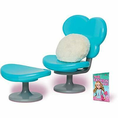 My Life As 18 Doll Chair And Footrest With Pillow