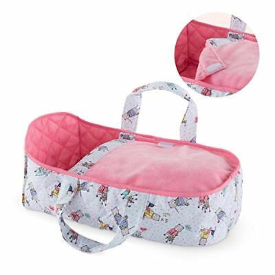 Corolle Mon Premier Poupon Carry Bed Toy Baby Doll Toy, Pink