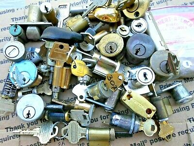 6.3 LBS  Lock cylinders, locks, parts..  Locksmith,Student,Collectors ...