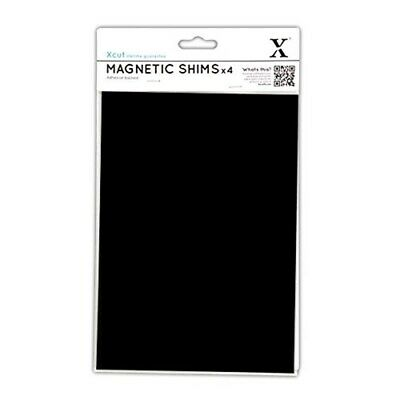 Xcut Adhesive Backed Magnetic Die-cutting Shim A5 4/pkg- - Shims Pack Die
