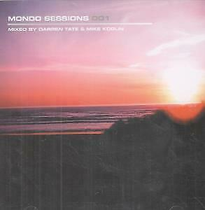 MONDO SESSIONS 001 Various CD 2 Disc Set Mixed By Darren Tate And Mike Koglin