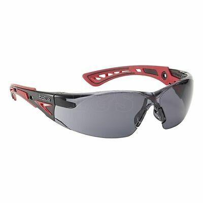 Rush+ Platinum Safety Glasses - Smoke by Bolle Safety - RUSHPPSF