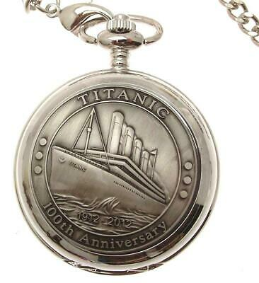 Titanic Full Hunter Pocket Watches Quartz Titanic Design 64