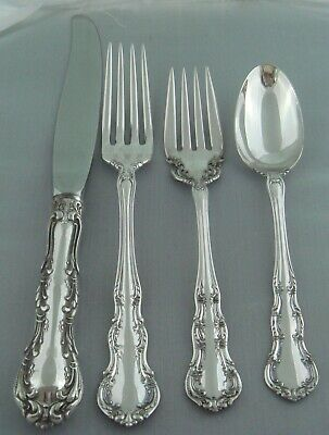# Wallace Irving Sterling Silver Four ( 4 ) Piece Setting