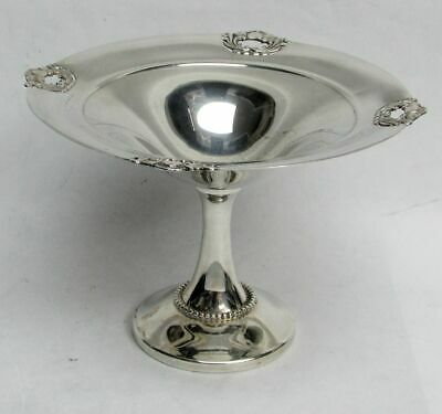 Hunt Silver Company Chicago Sterling Silver (Royal Danish Pattern) Compote #355