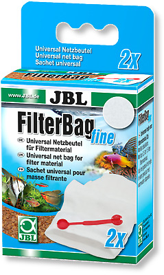 JBL Filter Bag Fine Twin Pack Aquarium Fish Tank Media Bag Purigen Rowa Phos