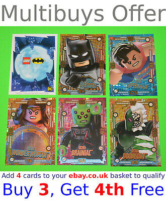 Lego Batman Series 1 (2019) Trading Cards   SELECT YOUR >> ULTRA FOIL Cards