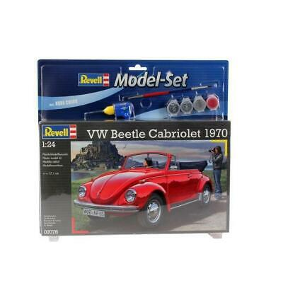 REVELL Maquette Model set Voitures VW Beetle Cabriolet'70 67078