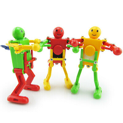 Dancing Robot Novelty Wind Up Toys Funny Amusing Plaything for Children Gift Q