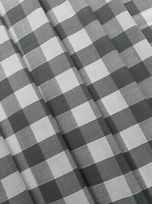 Grey Check Gingham VW CAMPER VAN Curtains T2 T4 T5 T25 Orders Welcome *Lined*