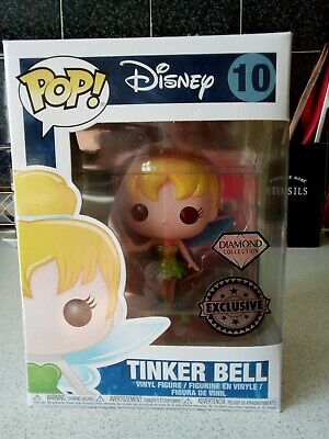 Funko Pop Tinker Bell Disney Figure exclusive diamond collection with Glitter