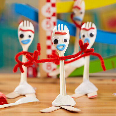 Forky Toy Story 4 Make Your Own Kit Ideal Present Party Bag Filler Creative Toys