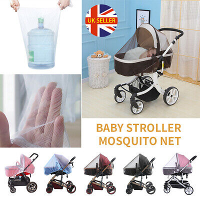 UK Baby Stroller Pushchair Buggy Pram Mosquito Bug Fly Insect Mesh Net Cover POW