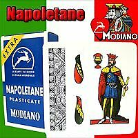 Napoletane 97/31 Modiano Regional Italian Playing Cards. Authentic Italian Deck.