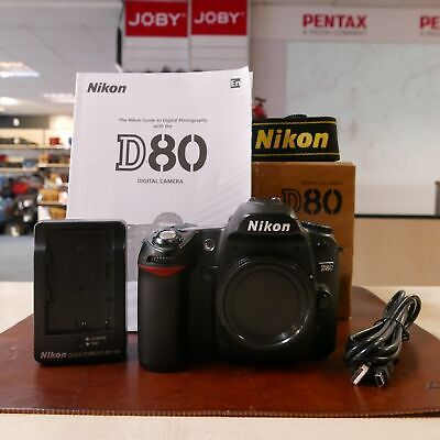 Used Nikon D80 DSLR Body (16084 actuations) - 1 YEAR GTEE