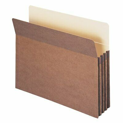 Smead File Pocket, Straight-Cut Tab, 3-12 Expansion, Letter Size, Redrope, 25...