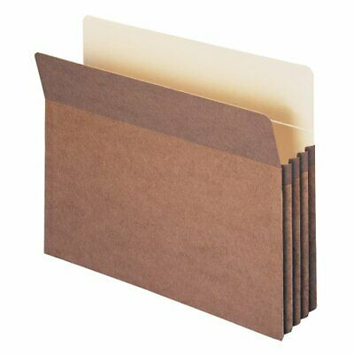 Smead 100 Recycled File Pocket, Straight-Cut Tab, 3-12 Expansion, Letter Size...