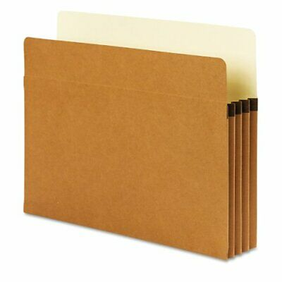 Smead SuperTab File Pocket, Oversized Straight-Cut Tab, 3-12 Expansion, Lette...