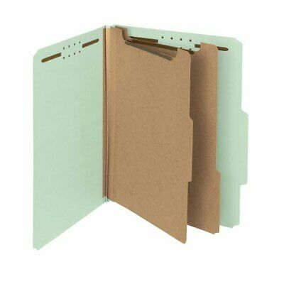 Smead 100 Recycled Pressboard Classification File Folder, 2 Dividers, 2 Expan...