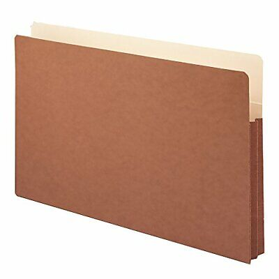 Smead File Pocket, Straight-Cut Tab, 1-34 Expansion, Legal Size, Redrope, 25 ...