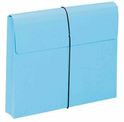 Smead Expanding File Wallet, 2 Expansion, Protective Flap and Cord Closure, L...