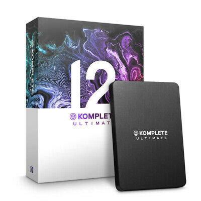 Native Instruments Komplete 12 Ultimate UPGRADE from Komplete 8-12 (NEW)