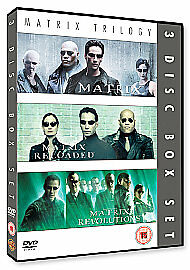 Complete Matrix Trilogy [DVD] [1999], New, DVD, FREE & Fast Delivery
