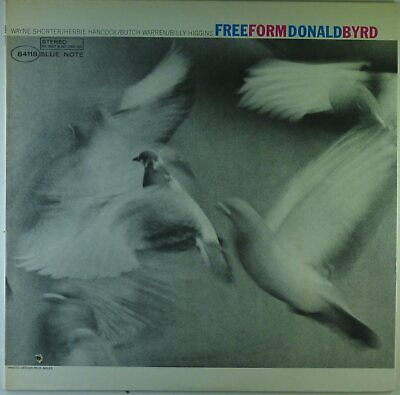 """12"""" LP - Donald Byrd - Free Form - G943 - cleaned"""
