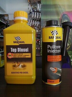 Bardahl Top Diesel Additivo Pulizia Motore Gasolio Iniettori + Injector Cleaner