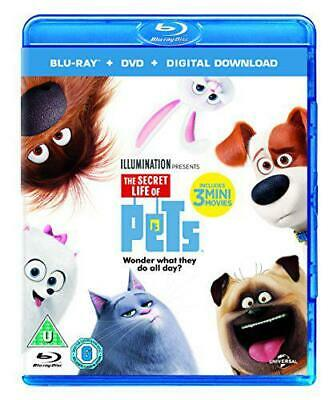 The Secret Life Of Pets (Blu-ray + DVD + Digital Download) [2015], New, DVD, FRE