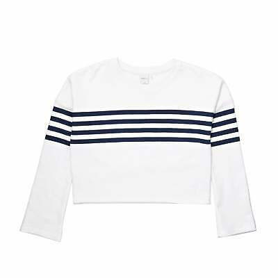 Swell Sista Flared Girls Hoody Pullover - Stripe All Sizes