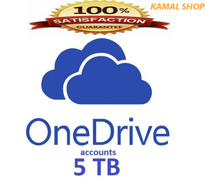 5TB Onedrive Account - Lifetime account - Preset - Instant delivery
