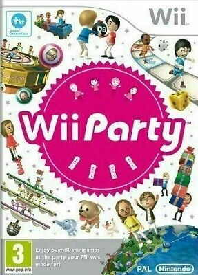 Wii - Wii Party - Same Day Dispatched - VGC - Nintendo