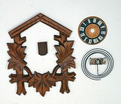 Black Forest Cuckoo Clock Parts Only Made In W.Germany