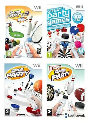 Wii - Game Party Series - Same Day Dispatched - Boxed - VGC - Nintendo