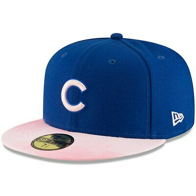 New Era 2019 Chicago Cubs Mother's Day 59Fifty Hat Mens On Field MLB Hat