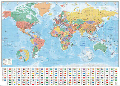 Choose any Giant Wall Poster 140cm x 100cm World Map ,Pulp Fiction,Star Wars etc