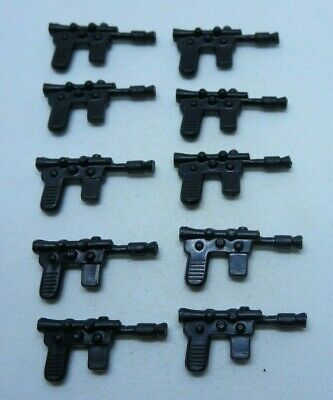 10 Black Jawa Blasters Weapon Replacement Star Wars for Vintage MP