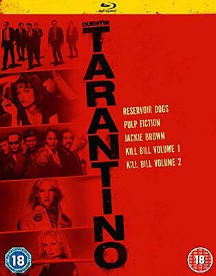Quentin Tarantino Collection [Blu-ray], New, DVD, FREE & Fast Delivery