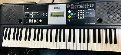 YAMAHA PSR-E223 KEYBOARD, Adapter, and Stand Included - $47 00