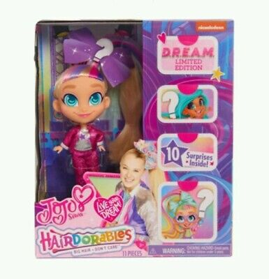 HAIRDORABLES JOJO SIWA Loves Hairdorables D.R.E.A.M. Limited Edition Doll  NEW