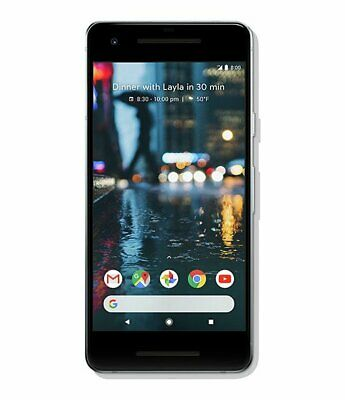SIM Free Google Pixel 2 5Inch 64GB 4GB Ram 12MP 4G Dual Sim Mobile Phone - White