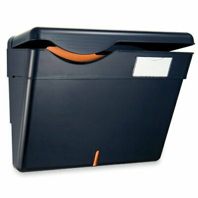 Officemate Security Wall File with Cover, Black, 1 File (21472)