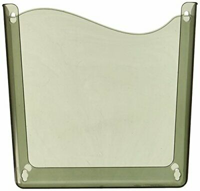 Officemate Unbreakable Wall File, LetterA4, Vertical, Smoke(21671)