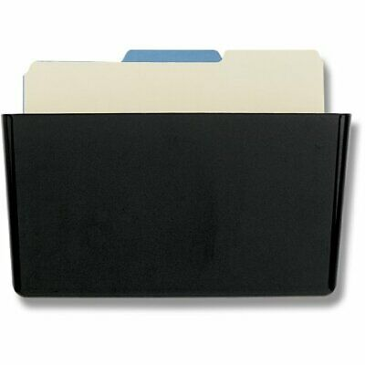 Officemate Wall File Letter Size, Black (21432)