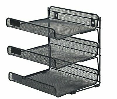 Merangue 3-Tiered Wall Mount Letter Trays (MIL11957-CA)