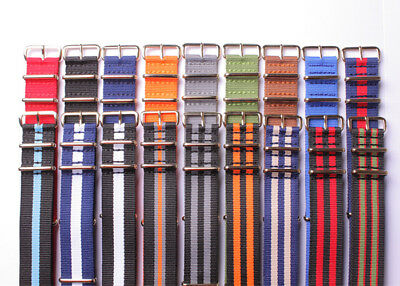 wholesale-Nylon-casual-canvas-Watch-Strap-Wristwatch-Band-DG-gold-buckle-Fabric