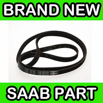 Saab 9000 (88- 2.3 With Air Conditioning) Drive Belt